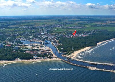 Lokalizacja Villa Victoria w Kołobrzegu