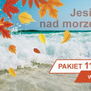 Jesień w Kołobrzegu pakiet pobytowy