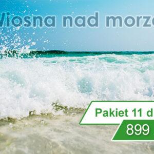 Wiosna nad morzem w Kołobrzegu 11 dni