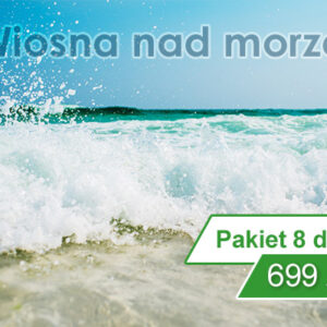 Wiosna nad morzem w Kołobrzegu 8 dni