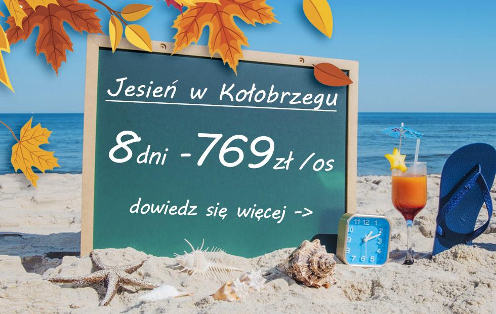 Zima nad morzem w Kołobrzegu