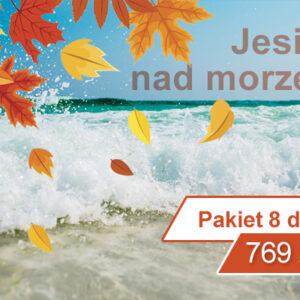 Pakiet jesień nad morzem 8 dni